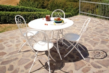 Pigalle folding round table
