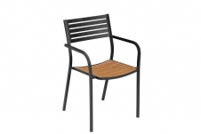 Segno armchair with teak seat
