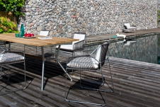 Reef table stainless steel frame