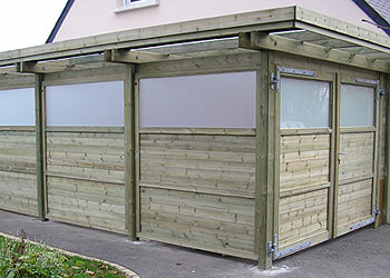 CL Carport Set 2 portes battantes B2