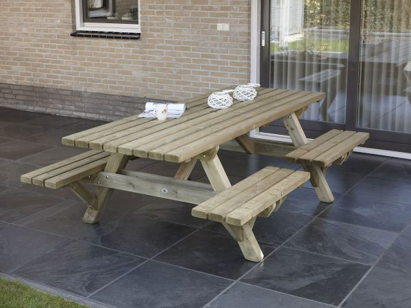 Picknicktafel open instap