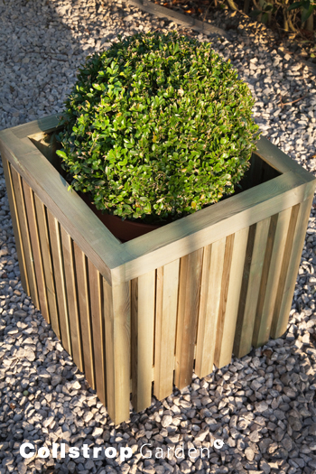 CL Decoratie Bloxx Planter groen 440x433x433
